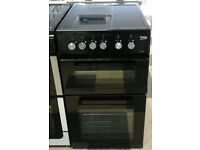 i799 black beko 50cm double electric cooker comes with warranty can be delivered or collected