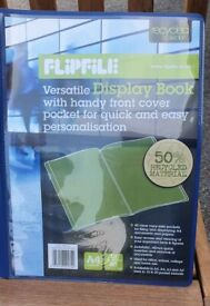 Flipfile A4 Display Books (BOXES OF 10)