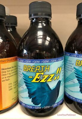 GEM Breath Ezz Pigeon Breathing Supplement for Racing Pigeons Respiratory BMFD