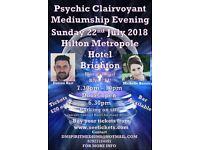 Psychic clairvoyant Evening Hilton metropole hotel Brighton