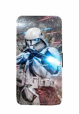 Star Wars Stormtrooper Commander Flip Wallet Phone Case