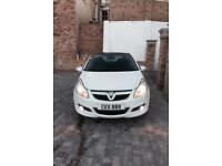 Vauxhall, Corsa, Limited Edition White
