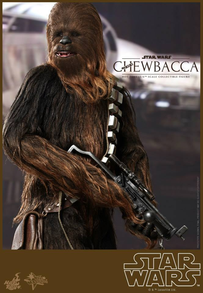 HOT TOYS Star Wars Chewbacca 1/6 Figure