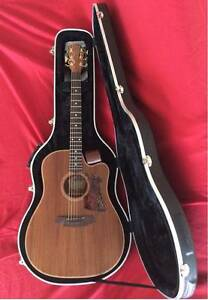 COLE CLARK FL2EC BLBL ALL BLACKWOOD ACOUSTIC GUITAR West Ryde Ryde Area Preview