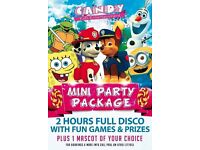bouncy castle / children entertainer / face painting / balloon modelling / disco dome / uv party