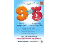 9-5 The Musical Kirkcaldy 1 Ticket