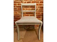 2 x Beautiful Chalk Painted Chairs