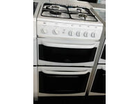 y319 white cannon 50cm gas cooker comes with warranty can be delivered or collected