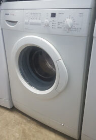 k357 white bosch 6kg 1200spin washing machine comes with warranty can be delivered or collected