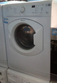 a566 white hotpoint 7.5kg vented dryer comes with warranty can be delivered or collected