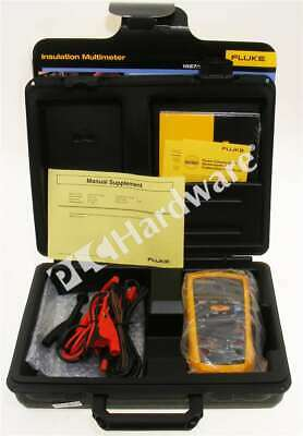 New Fluke 1587 Insulation Multimeter With Test Leads Case