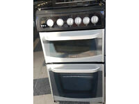 z777 black & silver cannon 50cm gas cooker comes with warranty can be delivered or collected