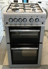 R038 silver flavel 50cm gas cooker comes with warranty can be delivered or collected
