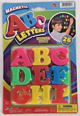 MAGNETIC LETTERS 26 Pcs. REFRIGERATOR ABC'S