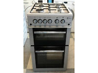 Z038 silver flavel 50cm gas cooker comes with warranty can be delivered or collected