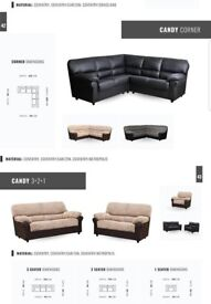 SOFA SALE: CLASSIC CORNER SOFA £380, 3+2 SET £380, ARM CHAIRS £190***FREE UK DELIVERY 1 TO 4 DAYS
