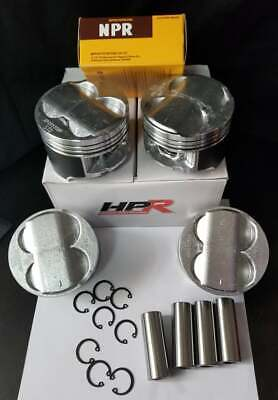84MM HPR B20 High Compression Full Floating Pistons & Rings Swap B18 B16