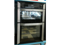 a022 stainless steel belling double integrated gas oven comes with warranty can be delivered