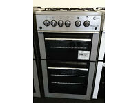 Ho73 silver flavel 50cm gas cooker new graded with 12 months warranty can be delivered or collected