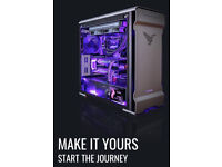 Custom Gaming Desktop PC Gamer Computer Your Own Unique RGB Designs 0% Interest Free Finance