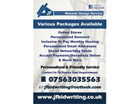 Professional Websites From £99