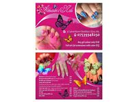 Nails, uv gel, manicure, pedicure, extensions, paraffin wax