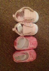2x baby girl pre walker shoes (nwot) Warragul Baw Baw Area Preview