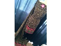 Fully Stitched Leopard Print Suit, Pink - Zee.H.M Fashion