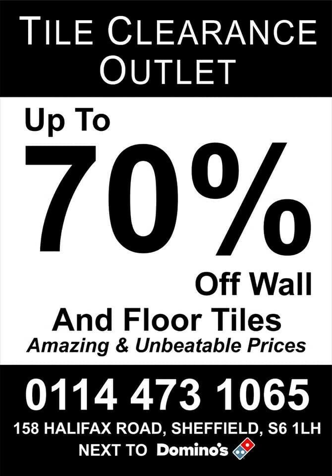 Tile Clearance Outlet   in Sheffield, South Yorkshire   Gumtree
