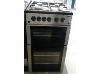 N162 stainless steel beko 50cm gas cooker comes with warranty can be delivered or collected