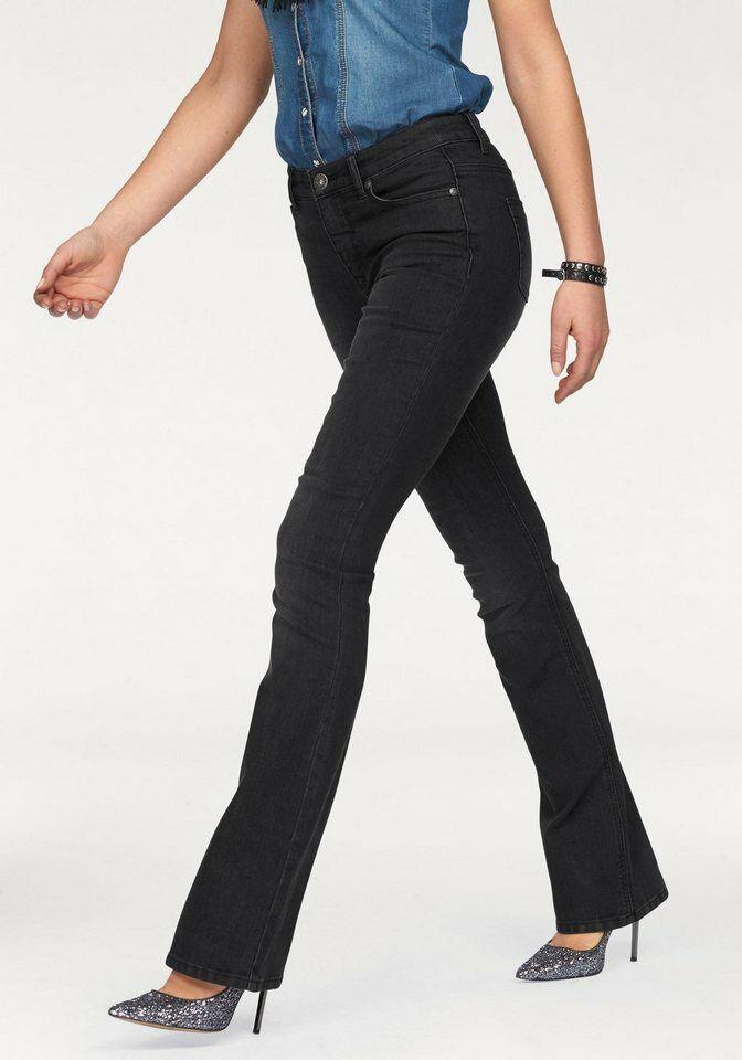 Arizona Bootcut-Jeans »Shaping«. black used. Kurz-Gr. NEU!!!