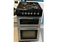 N034 silver flavel 50cm gas cooker comes with warranty can be delivered or collected