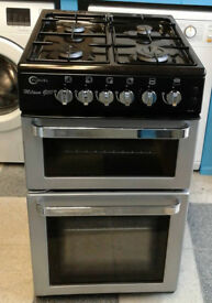 R034 silver flavel 50cm gas cooker comes with warranty can be delivered or collected