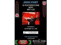 JOHN PART DARTS EVENING