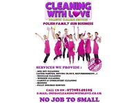 Domestic cleaning! Easter cleaning, Spring cleaning!