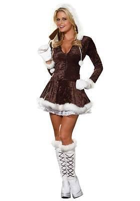 Yandy Com Halloween (Yandy.com Women's Eskimo Costume Size Small Style)