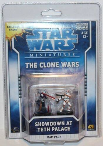 Wizards (2009) Star Wars Miniatures Map Pack The Clone Wars - Showdown at Teth P