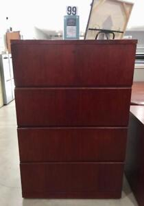 Executive 4 Drawer Lateral Filing Cabinet