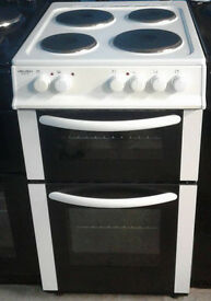 A149 white bush 50cm solid ring electric cooker comes with warranty can be delivered or collected