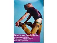 80's Fitness Cardio Dance class