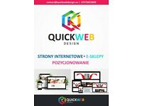 Designing websites, positioning, online stores