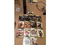 Xbox 360s controller and games