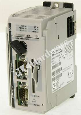 Allen Bradley 1769-l31 A Compactlogix Dual Serial Port Processor 512kb Fw 19.15