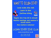 Scuba Diving Club in Purley!