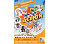 Bedford Summer Holiday 'Action' Activity Club