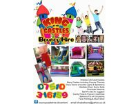 Bouncy Castle Disco Dome Unicorn Mascots Balloons Candy Floss Popcorn