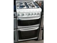 C310 white cannon 50cm gas cooker comes with warranty can be delivered or collected
