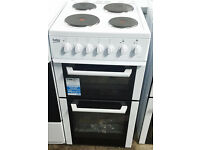 g204 white beko 50cm solid ring electric cooker graded 12 months warranty can be delivered