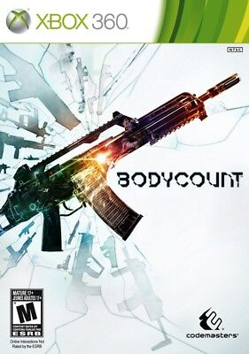 Bodycount Xbox 360 New Xbox 360