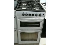 g312 silver new world 50cm gas cooker comes with warranty can be delivered or collected